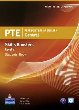 PTE Test of English General Skills Booster 4 Student Book+CD (підручник) - фото книги