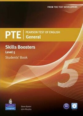 PTE Test of English General Skills Booster 5 Student Book+CD (підручник) - фото книги