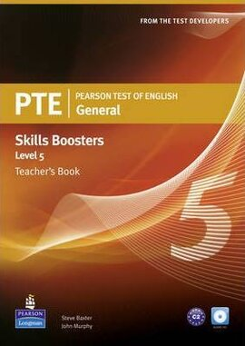 PTE Test of English General Skills Booster 5 Teacher's Book+CD (книга вчителя) - фото книги