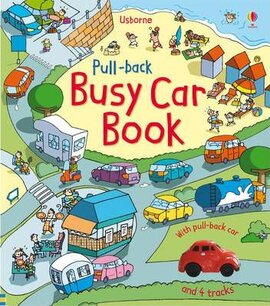 Книга Pull-back Busy Car Book