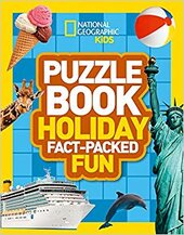 Puzzle Book Holiday : Brain-Tickling Quizzes, Sudokus, Crosswords and Wordsearches - фото обкладинки книги