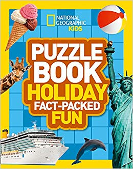 Puzzle Book Holiday : Brain-Tickling Quizzes, Sudokus, Crosswords and Wordsearches - фото книги