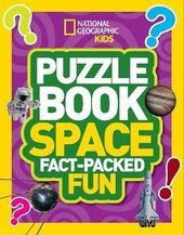 Puzzle Book Space : Brain-Tickling Quizzes, Sudokus, Crosswords and Wordsearches - фото обкладинки книги