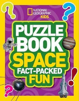 Puzzle Book Space : Brain-Tickling Quizzes, Sudokus, Crosswords and Wordsearches - фото книги
