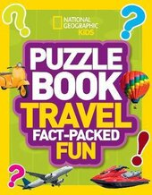 Puzzle Book Travel : Brain-Tickling Quizzes, Sudokus, Crosswords and Wordsearches - фото обкладинки книги