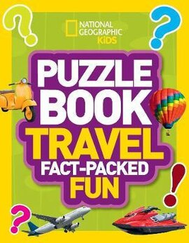 Puzzle Book Travel : Brain-Tickling Quizzes, Sudokus, Crosswords and Wordsearches - фото книги