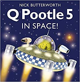 Q Pootle 5 in Space - фото книги