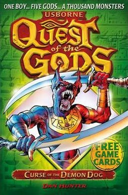 Quest of the Gods. Book 2. Curse of the Demon Dog - фото книги