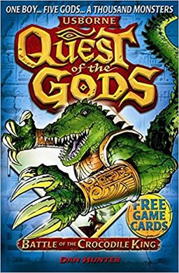 Quest of the Gods. Book 3. Battle of the Crocodile King - фото книги