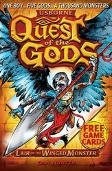 Quest of the Gods. Book 4. Lair of the Winged Monster - фото обкладинки книги