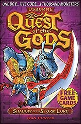 Quest of the Gods. Book 5. Shadow of the Storm Lord - фото обкладинки книги