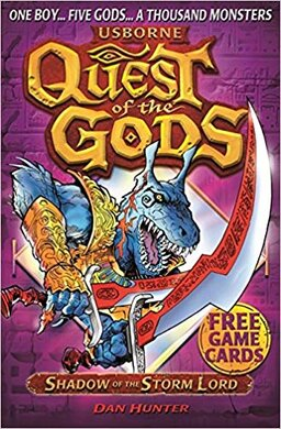 Quest of the Gods. Book 5. Shadow of the Storm Lord - фото книги