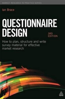 Questionnaire Design : How to Plan, Structure and Write Survey Material for Effective Market Research - фото книги