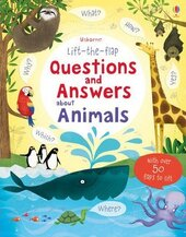Questions and Answers About Animals - фото обкладинки книги