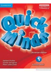 Quick Minds 1. Activity Book - фото обкладинки книги