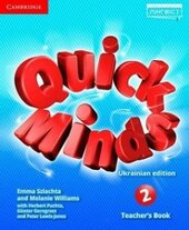 Quick Minds (Ukrainian edition) 2 Teacher's Book - фото обкладинки книги