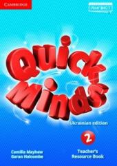 Quick Minds (Ukrainian edition) 2 Teacher's Resource Book - фото обкладинки книги
