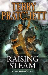 Raising Steam (Discworld novel 40) - фото обкладинки книги