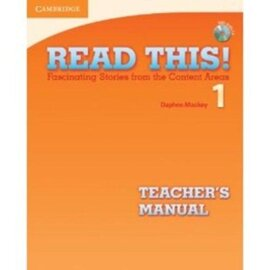 Read This! 1 Teacher's Manual + CD - фото книги