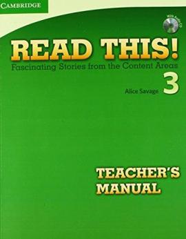 Read This! 3 Teacher's Manual + CD - фото книги