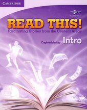 Read This! Intro Student's Book with Free Mp3 Online - фото обкладинки книги