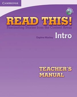 Read This! Intro Teacher's Manual + CD - фото книги
