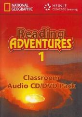 Reading Adventures 1. CD / DVD - фото обкладинки книги
