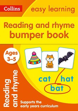 Посібник Reading and Rhyme Bumper Book Ages 3-5