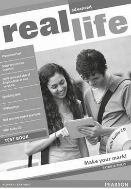 Real Life Advanced Testbook + CD - фото книги