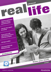 Real Life Advanced Workbook + CD (робочий зошит) - фото обкладинки книги