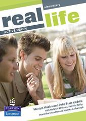 Real Life Elementary Active Teach (інтерактивний курс) - фото обкладинки книги