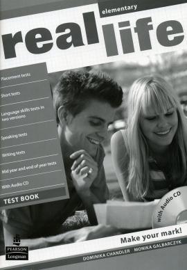 Real Life Elementary Testbook + CD - фото книги