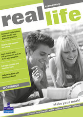 Real Life Elementary Workbook + CD (робочий зошит) - фото обкладинки книги