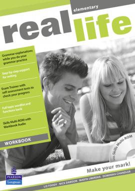 Real Life Elementary Workbook + CD (робочий зошит) - фото книги