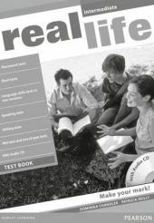 Real Life Intermediate Testbook + CD - фото обкладинки книги