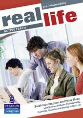 Real Life Pre-Intermediate Active Teach (інтерактивний курс) - фото обкладинки книги