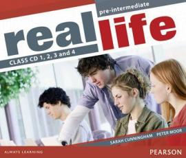 Real Life Pre-Intermediate Class Audio CD (аудіодиск) - фото книги