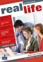 Real Life Pre-Intermediate Student Book (підручник) - фото обкладинки книги
