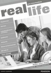 Real Life Pre-Intermediate Testbook + CD - фото обкладинки книги