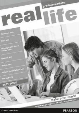 Real Life Pre-Intermediate Testbook + CD - фото книги