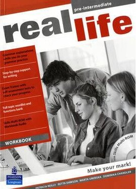 Real Life Pre-Intermediate Workbook + CD (робочий зошит) - фото книги