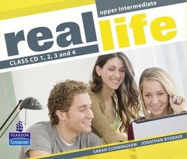 Real Life Upper-Intermediate Class Audio CD (аудіодиск) - фото книги