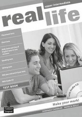 Real Life Upper-Intermediate Testbook + CD - фото обкладинки книги