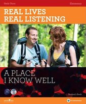 Real Lives, Real Listening. Elementary. A Place I know Well with CD - фото обкладинки книги