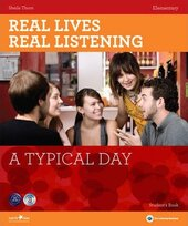 Real Lives, Real Listening. Elementary. A Typical Day with CD - фото обкладинки книги
