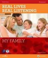 Real Lives, Real Listening. Elementary. My Family with CD - фото обкладинки книги