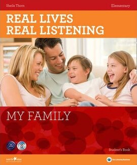 Real Lives, Real Listening. Elementary. My Family with CD - фото книги