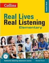 Real Lives, Real Listening. Elementary Student's Book with CD - фото обкладинки книги