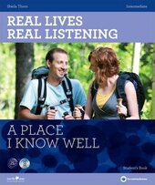 Real Lives, Real Listening. Intermediate. A Place I know Well with CD - фото обкладинки книги