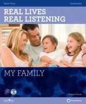 Real Lives, Real Listening. Intermediate. My Family with CD - фото обкладинки книги
